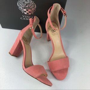 Vince Camuto Corlina Ankle Strap Sandak Size 7.5 M